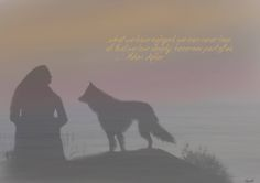 A edit i made of my dog who is gone.. and me. dogloss