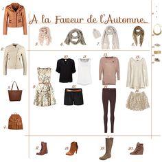 Garde robe automne hiver