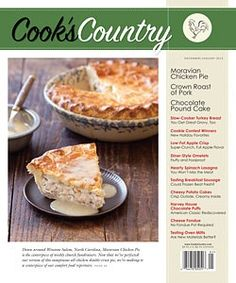 Classic Rum Bundt Cake: December/January 2012 Issue - Cook's Country Magazine (you have to click on the link - the page itself is not pinnable)    This is a DELICIOUS bundt cake - probably my favorite recipe that I've tried yet!