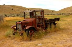 This #Classic #Truck has seen its day. #Nature #Beauty #RustinPeace