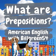 """A preposition helps describe place, movement and time. Three of the most common prepositions are """"In, On, and At."""" """"In"""" is often used with limits. """"On"""" is often used when two things touch. """"At"""" is often used with places or locations. Prepositions are used for phrases and time expressions. Slang, informal and idioms contain prepositions too. Here are Some Examples. Are you at home now? Yes, I am in the kitchen. Was it hot on the subway today? Yes, I couldn't wait to get off! American English Grammar, English Language, English Study, Learn English, Grammar Review, Prepositions, Idioms, Touch, Places"""