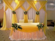 Useful Wedding Event Planning Tips That Stand The Test Of Time Desi Wedding Decor, Wedding Hall Decorations, Marriage Decoration, Backdrop Decorations, Flower Decorations, Wedding Table, Wedding Reception Backdrop, Wedding Mandap, Wedding Ideas