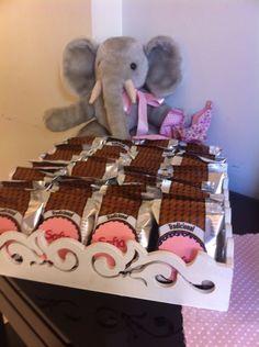Elefantinho com as lembrancinhas!