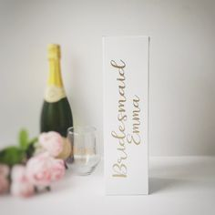 Bridesmaid Gift Maid Of Honour Gift Wedding Box by PerfectParcels1