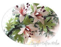 Jak Heath.com: Floral Punch Craft - Lilium Feathers