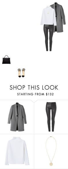 """""""243"""" by mghv on Polyvore featuring STELLA McCARTNEY, Christian Louboutin, Helmut Lang, WNDERKAMMER, Hermès and Isabel Marant"""