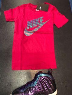 d00584456c2 Nike Unicorn Galaxy Foamposite Grade School Shirt. Foam PositesSchool  ShirtsShirt ...