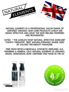 Voted the worlds most natural skincare! Xx