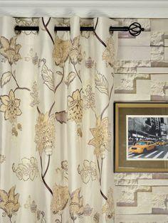 Rainbow Embroidered and Velvet Appliqué Grommet Dupioni Silk Curtains Custom Made Curtains, Silk Curtains, Applique, Velvet, Rainbow, Concave, Living Room, Decorating, Beautiful