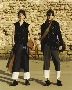 Loewe by JW Anderson shot by Jamie Hawkesworth in Cadiz