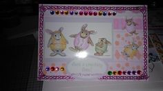 house mouse ester card I made..