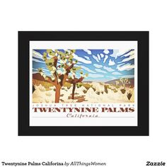 Twentynine Palms Califorina Canvas Print