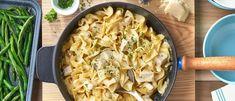 Quick Creamy Chicken & Noodles Recipe   Campbells Kitchen#Campbells #Chicken #C Creamy Chicken And Noodles, Chicken Noodle Recipes, Chicken Noodles, Chicken Broccoli, Broccoli Rice, Chicken Ideas, Pesto Chicken, Chicken Rice, Baked Chicken