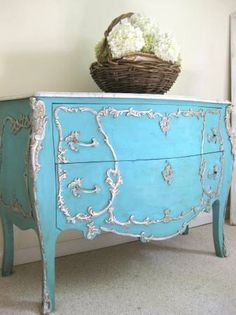 Louis XV French Bombay Chest by Artisan8 on Etsy, $995.00
