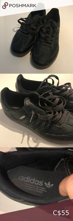 Shop Men's adidas size 8 Sneakers at a discounted price at Poshmark. Description: Men's Adidas black sneakers in size Sold by Fast delivery, full service customer support. Adidas Black Sneakers, Black Adidas, Adidas Men, Shoes Sneakers, Plus Fashion, Fashion Tips, Fashion Trends, Louis Vuitton, Man Shop