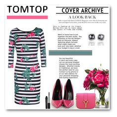 """""""Tomtop 30"""" by emina-turic ❤ liked on Polyvore featuring Lux-Art Silks, Yves Saint Laurent and Smashbox"""