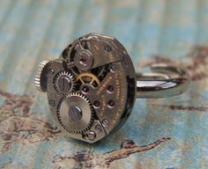 Watch ring, so cool!