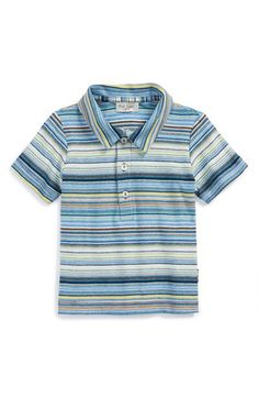 Paul Smith Junior Stripe Polo (Baby Boys) available at #Nordstrom