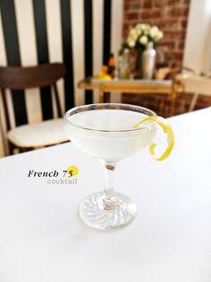 {Cocktail Friday} French 75 - freutcake | freutcake