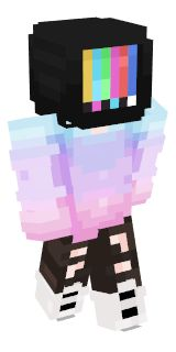 Check out our list of the best TV Head Minecraft skins. Minecraft Skins Girl Wolf, Skins Minecraft, Minecraft Ideas, Minecraft Skins Aesthetic, Capas Minecraft, Tv Head, Mc Skins, Pink Sheep, Best Tv