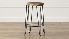 Like a lot in person. Would go well with drop-leaf origami table. Origin Backless Counter Stool
