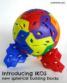Introducing IKOS: super fun new building blocks - with curves!