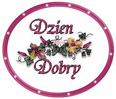 Wiersze,Gify Na Dzień Dobry ...: Gify na dzien dobry - kwiaty Decorative Plates, Pretty Pictures, Text Posts
