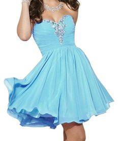 Charming Homecoming Dress,Chiffon Homecoming Dress,Sweetheart Homecoming Dress, Short