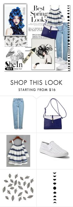 """SheIn"" by smajicelma ❤ liked on Polyvore featuring H&M, Topshop, Steve Madden and Umbra"