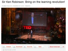 Sir Ken Robinson: Bring on the learning revolution #TED