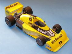 F1 Paper Model - 1977 Renault RS01 Paper Car Free Template Download