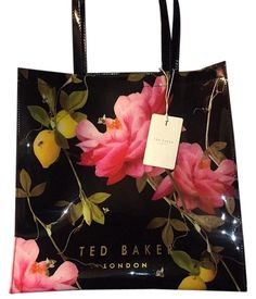 07b9d3b722 Ted Baker Xa6w/xb80/lemcon Citrus Pattern Tote Bag. Get one of the. Tradesy