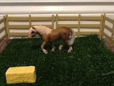 This is the 2006 Haflinger mare.