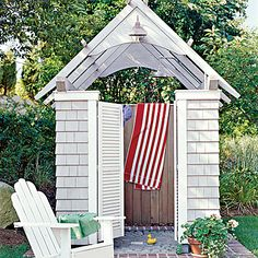7. Open-air Shower - Our Most Repinned Rooms Ever - Coastal Living
