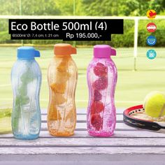 Eco Bottle 500ml (4) @500ml/ Ø: 7.4 cm, t: 21 cm
