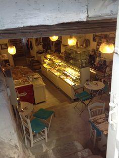 Myconos wood bakery!best spot!