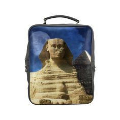 Sphinx and Pyramis Square Backpack. FREE Shipping. FREE Returns. #lbackpacks #egypt