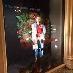 """COLTORTI BOUTIQUE, Jesi, Italy, """"Your Christmas Destination"""", pinned by Ton van der Veer"""