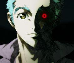 He's creepy but... he's also kinda cute, I mean his hair looks like cat ears...
