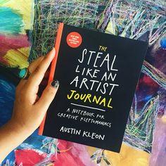 Embedded image Austin Kleon, Artist Journal, Books To Read, My Love, Creative, Image, Musica, Lifestyle