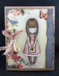 Gorjuss Girl Birthday Card