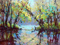 Breaking Through by Trisha Adams Oil ~ 30 x 40