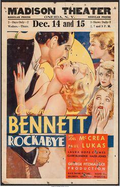Paul Lukas and Constance Bennett in Rockabye. 1932