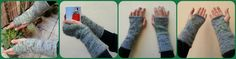 Glimpse of Spring Wrist Warmers