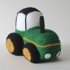 Ravelry: Tractor by Amanda Berry