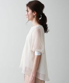 シアーレイヤードブラウス(シャツ/ブラウス) UNITED TOKYO(ユナイテッドトウキョウ)のファッション通販 - ZOZOTOWN