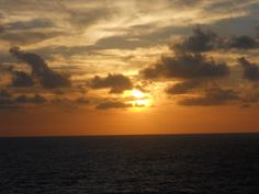 Sunrise in Freeport, Bahamas 2011 The view was well worth waking up for each day.  Absolutely awesome!