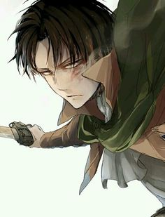 Shingeki no Kyojin | Attack On Titan | Levi Ackerman | Rivaille | Anime | Boy | Badass | Heichou | Art