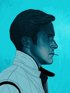 Los Angeles-based artist Mike Mitchell has a grainy series of portrait illustrations of his favorite film characters. Mike Mitchell, Cultura Pop, Portrait Illustration, Character Illustration, Icon Illustrations, Digital Illustration, Badass Movie, Movie Prints, Kunst Poster