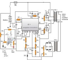 SG3525 Full Bridge Inverter using Bootstrapped BJT/Mosfet